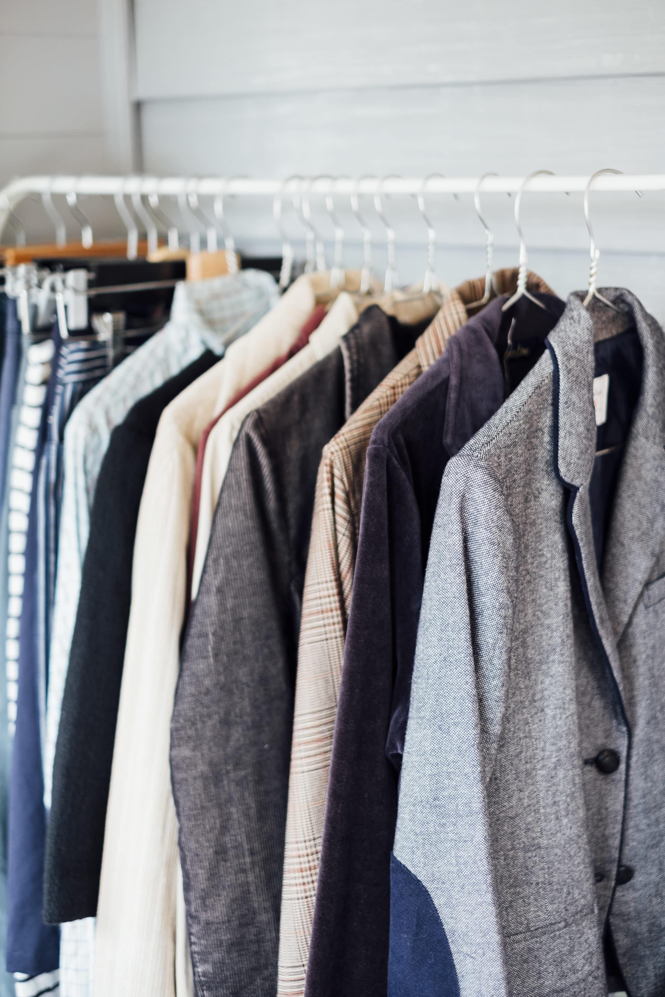 blazers et chemises
